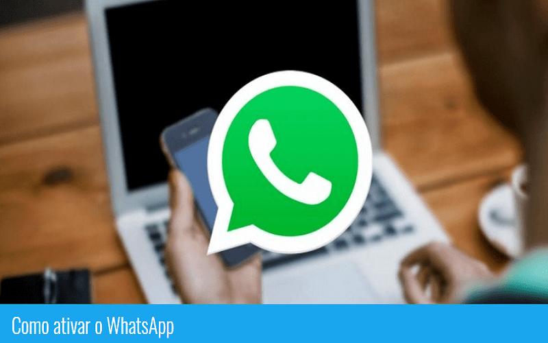 como ativar whatsapp